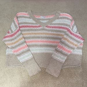 American Eagle Outfitters Knit Striped Sweater!